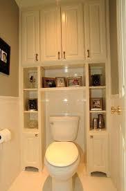 Bathroom Toilet Shelves Image Of White Over The Toilet Cabinet ...