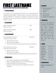 Microsoft Word Resume Template Free Ms Word Resume Templates Word