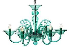 calais chandelier aquamarine