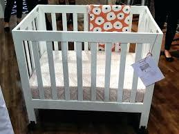Mini Cribs Reviews Crib Mattress Set Best Baby Bes Strop Cast