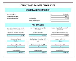 Calculator Credit Card Payment Calculator Excel Credit Card Payment Loan Formula Agreement