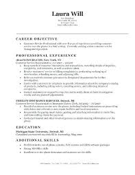 Resume Template For Customer Service Mesmerizing Objective Statement Resume Examples Mycola