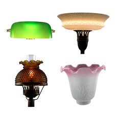 replacement glass lamp shades for table lamps lightings and 2