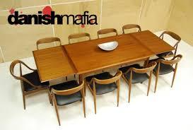 modern dining table teak classics:  mid century teak dining table