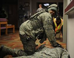 team whiteman participates in active shooter exercise > air force hi res photo details