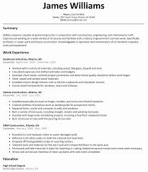 Resume Template Au Sample Resume Australian Format Awesome Carpentry Resume Template 12