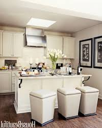 Small Kitchen Reno Brown Varnishes Cherry Wood Kitchen Cabinets Small Kitchen Reno