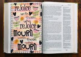 Personal Journaling Scrapping With Christine Bible Journaling Romans 12 15