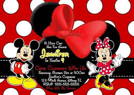 mickey and minnie invitation templates mickey mouse invitation card maker on pinterest disney scrapbook