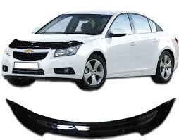 <b>Дефлектор капота CA</b> Plastic для <b>Chevrolet</b> Cruze седан 2009-н.в ...