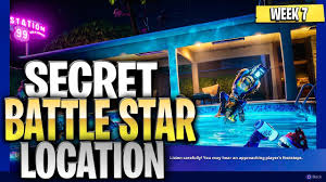 WEEK 7 SECRET BATTLE STAR LOCATION GUIDE SEASON 10 ...