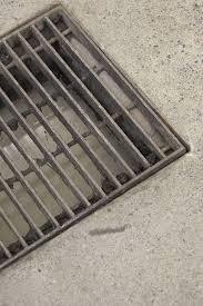 trench drain concrete patio drainage