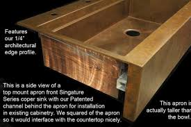 Bathroom Apron Sink Decorating Recommended Apron Sink For Kitchen Or Bathroom