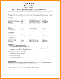 Sample Resume Format In Word Document Proyectoportal Com