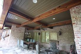 inexpensive covered patio ideas. Porch Ceiling Ideas Cool Cedar Covered Inexpensive Patio I