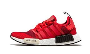 adidas red shoes. adidas nmd_r1 (geometric camo red) s79164 (10.5) red shoes n