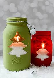 DIY Mason Jar Craft Ideas For Christmas Great Homemade Holiday Mason Jar Crafts For Christmas