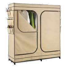 Wardrobes: Honey Can Do 60 Portable Cloth Wardrobe Storage Closet Wrd 01272  Canvas Wardrobe Storage