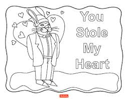 15 Valentines Day Coloring Pages For Kids Shutterfly