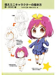 how to draw moeoh characters