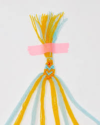 the neon tea party heart friendship bracelet diy 18