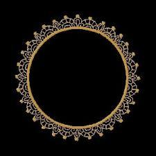 fl01 Circle Border Floral Embroidery Design $3 99 Golden