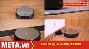 Đánh giá robot hút bụi lau nhà Ultty SKJ RB01X, làm sạch 200m2