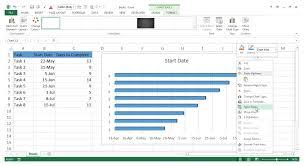 How To Make Gantt Chart In Excel Gantt Chart Excel Zoho