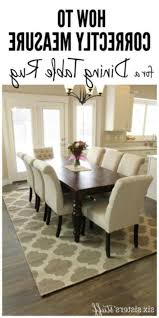 Rug Under Round Dining Table Home Decorating Ideas
