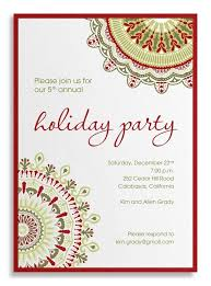 Latest Holiday Party Invitation Wording To Make Printable Party ...