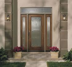 Door Design : Exquisite Interior Exterior Glass House Entrance ...