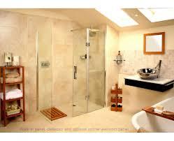 Walk In Shower Enclosure Roman Embrace Walk In Shower Panel With Deflector Uk Bathrooms