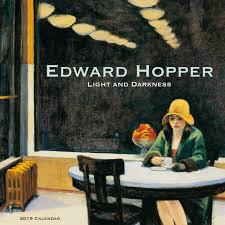 Edward Hopper Light And Dark Hopper Light Dark 2019 Wall Calendar Edward Hopper