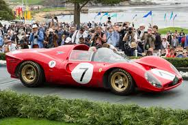 ferrari 330 p4. 1966 ferrari 330 p4 wins gran turismo trophy at pebble beach 2016 0