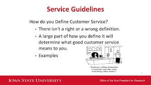 Define Customer Service Customer Service Agenda Understanding Your Current