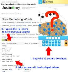 Draw Something Words