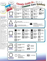 Clorox Care Symbol Chart Laundry Guide To Common Care Symbols Care Labels