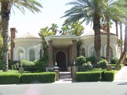 Modern roman style house
