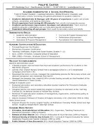 Grad School Resume Example Examples Of Graduate School Resumes ...
