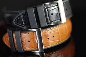 genuine alligator leather replacement watch bands from our structure series