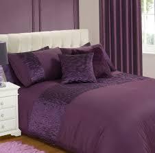 purple duvet cover double