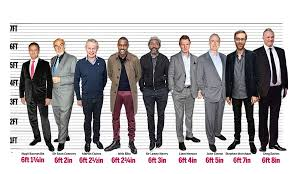 Britains Tallest And Shortest Actors Daily Mail Online