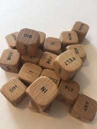 Making Wooden Games 100 Wooden Word Cubes for Altered Art Jewelry Making Collage 27