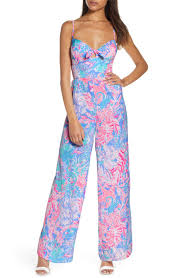 Lilly Pulitzer Size Chart Bente Bow Front Jumpsuit