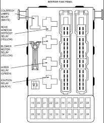 1995 ford contour gl owners manual my radio is blown amps 1995 Ford Contour Fuse Box Diagram here is what you need from alldata graphic graphic 1996 Ford Contour Fuse Box Diagram