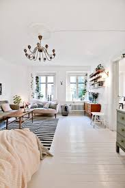 Living Room With White Furniture 17 Best Ideas About White Studio Apartment On Pinterest Studio