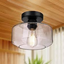 semi flush mount ceiling light 750