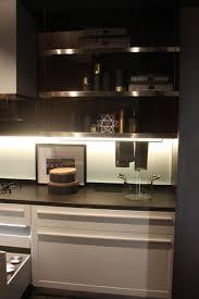 countertop lighting. Metallic Kitchen Design With Led Under Cabinet Lighting Countertop E