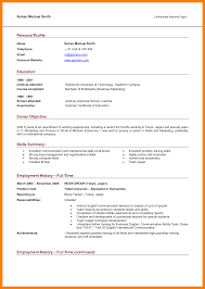 Profile Sample Resume Useful Resume Career Profile Template With