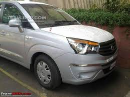 new car launches of 2014 in india2013 Ssangyong Rodius Spied In India